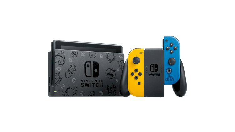 Fortnite-themed Nintendo Switch soon to launch in Europe, Australia, and New Zealand