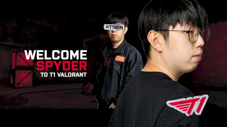 Sayaplayer switches from Overwatch to T1 Valorant in the name of Spyder