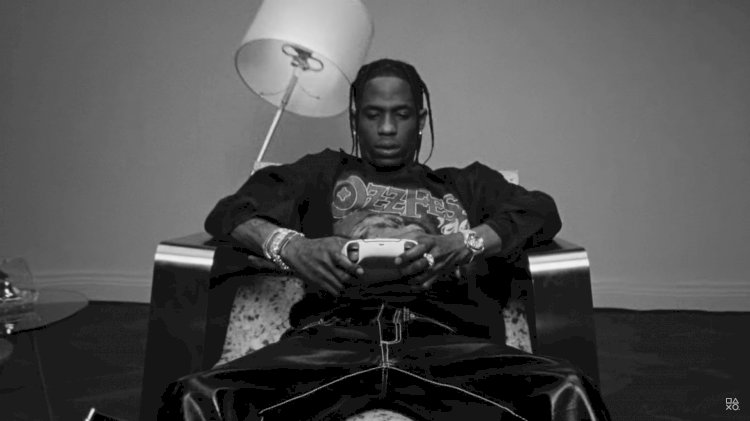 Travis Scott is now 'strategic creative partner' for PlayStation 5