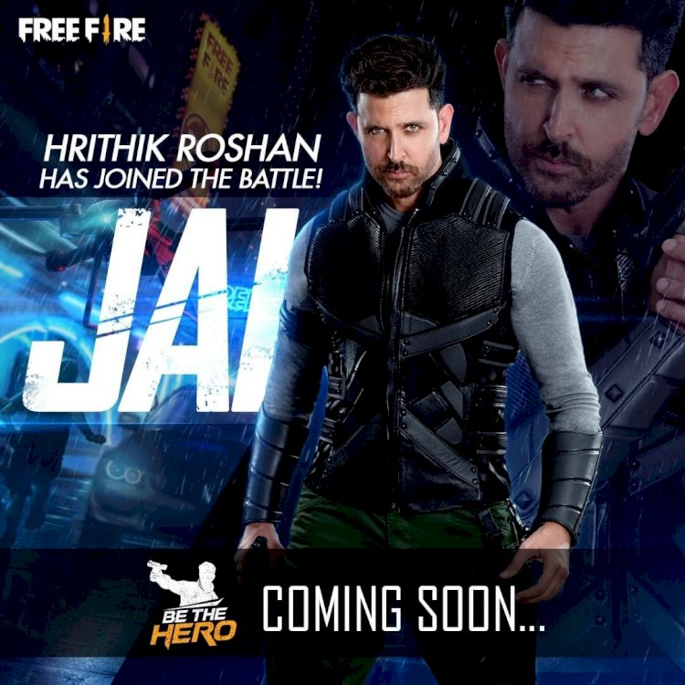 Garena Free Fire Confirms Jai's Character to Be Hrithik Roshan