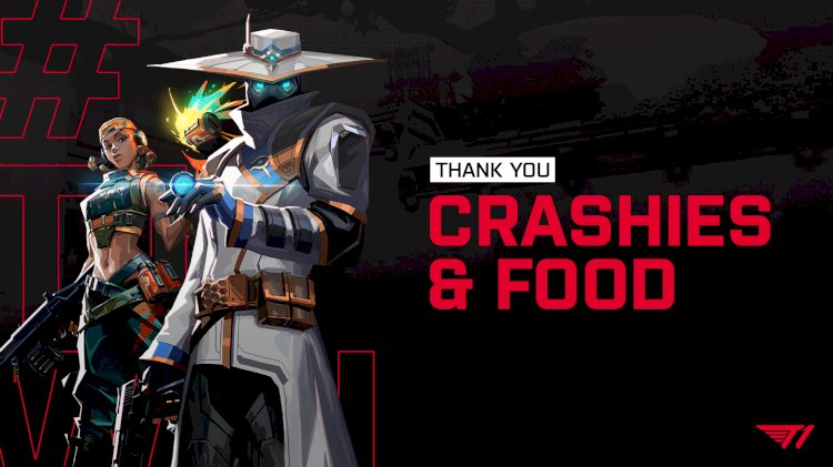 T1 Drop Food & Crashies From Valorant Lineup Amid Poor Performance