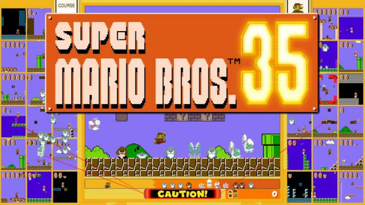 Super Mario Bros. 35 Is A New Battle Royale Game On The Horizon For Nintendo Switch Users.