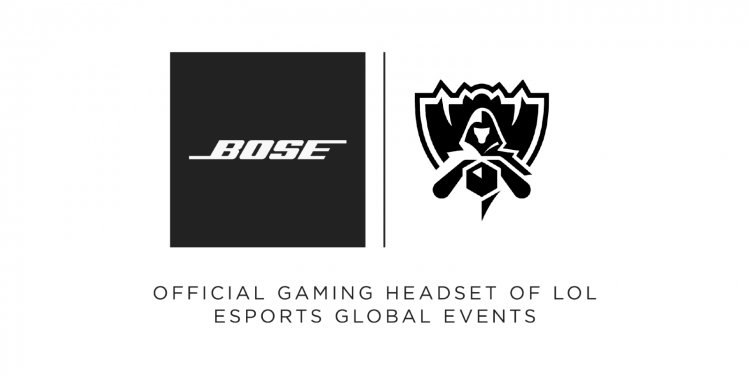 Bose becomes the official Gaming Headset Partner of LoL Esports Global Events