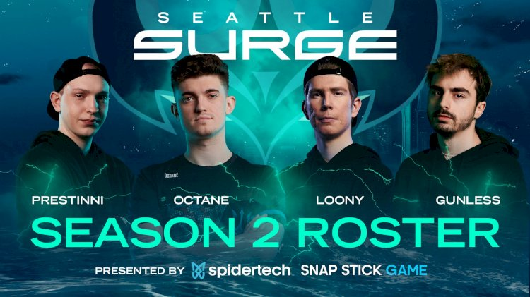 COD: Seattle Surge add Loony, Gunless and Prestinni alongside Octane to complete their roster for CDL 2021