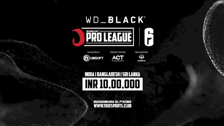 The Esports Club Launches a Five Months Pro League for Tom Clancy's Rainbow Six Siege  WD Black TEC Pro League
