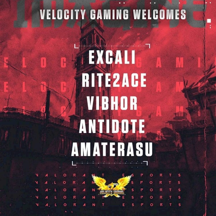 VALORANT: India based Velocity Gaming will represent the country in Singapore