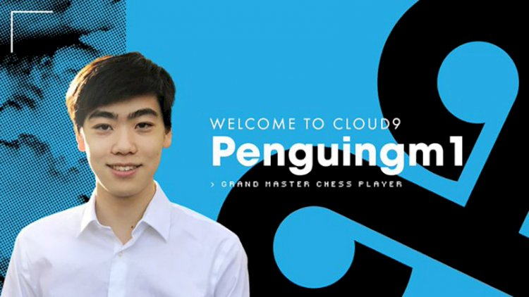 Cloud9 Signs Three Times Chess National Champion Andrew 'penguingm1' Tang