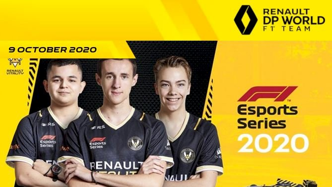 F1®️ Esports   Team Renault Vitality is ready to race for World Title