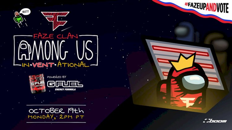 FaZe Clan Announce Among Us In-vent-Ational Event