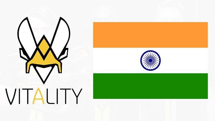 Team Vitality forays into India