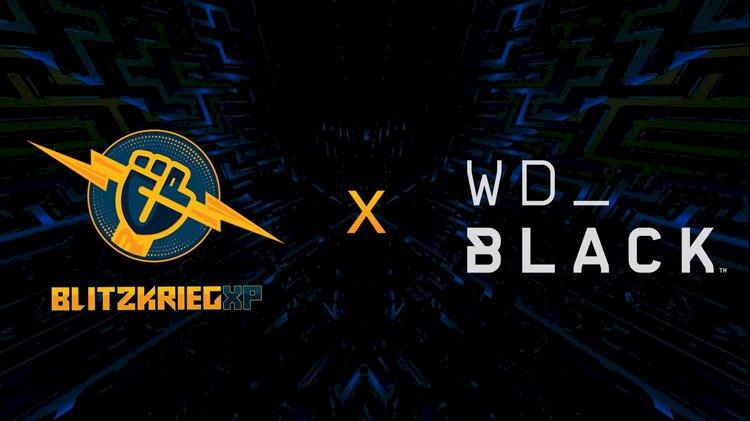 BlitzkriegXP announces partnership with Western Digital