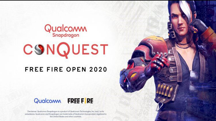 Qualcomm Technologies Announces Snapdragon Conquest Free Fire Open 2020