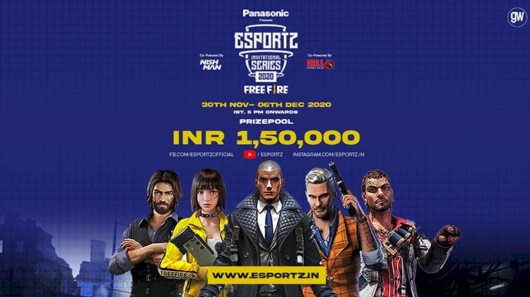 Esportz Invitational Series: A Free Fire Tournament With INR 1.5L Prize Pool Set To Begin From 30th – 6th December