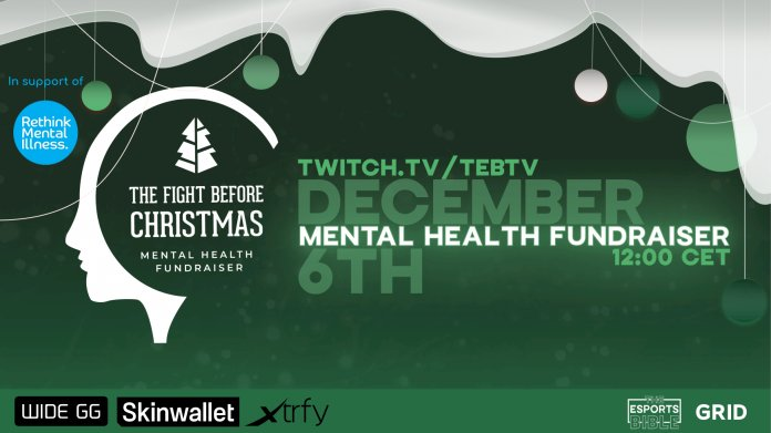 GRID partners with Rethink Mental Illness for CS:GO charity event to address mental illness