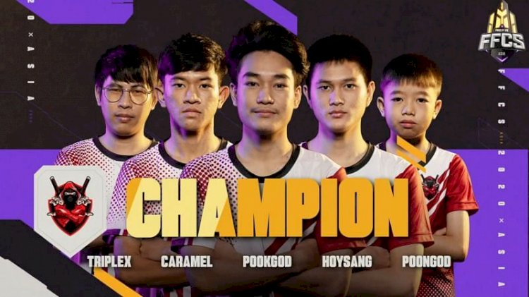EXP Esports triumph at Free Fire Continental Series Asia 2020