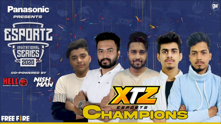 XTZ Esports are the Champions of Esportz Invitational Series 2020  - Free Fire | Day 7