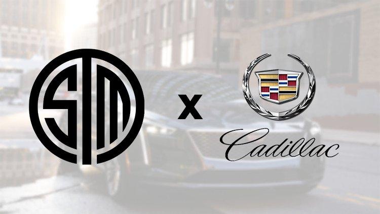 Cadillac forays into esports with TSM Partnership