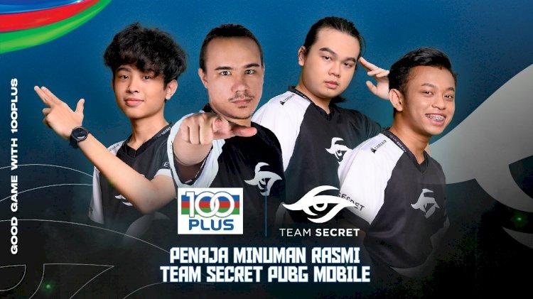 100PLUS and Team Secret PUBGM announce partnership