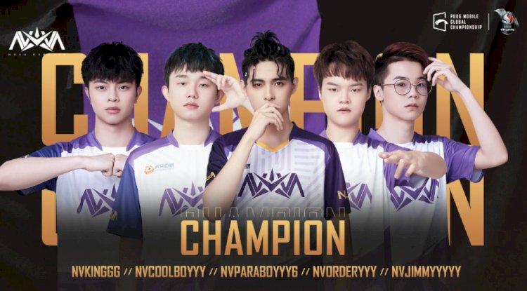 Nova XQF is the winner of PUBG Mobile Global Championship 2020 Season 0