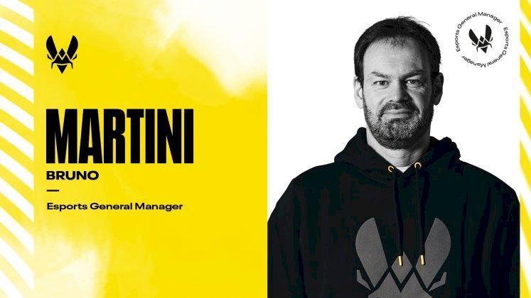 Team Vitality recruits former Paris Saint-German General Manager Bruno Martini