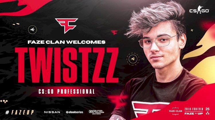 CS:GO: Twistzz officially join Faze Clan