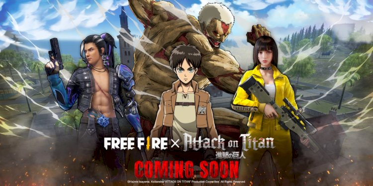 Free Fire and Attack on Titan collaboration announced