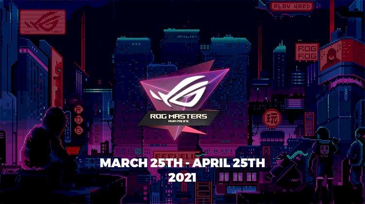 Asus Announce ROG Masters APAC 2021 Esports Tournament