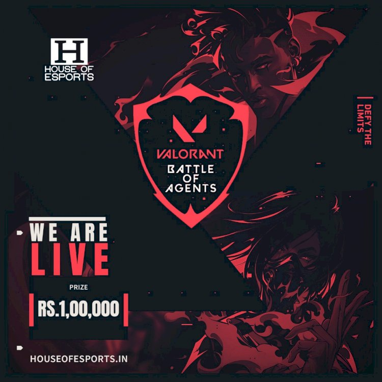 House Of Esports in association with Immortals India announce Battle Of Agents VALORANT Tournament