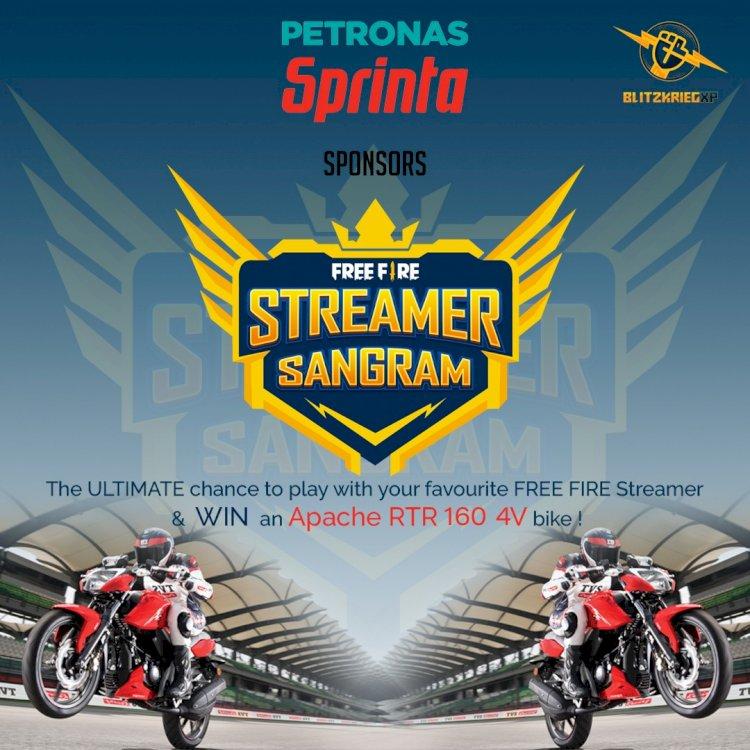 BlitzkriegXP announces Streamer Sangram; Open Free Fire tournament captained by popular Streamers