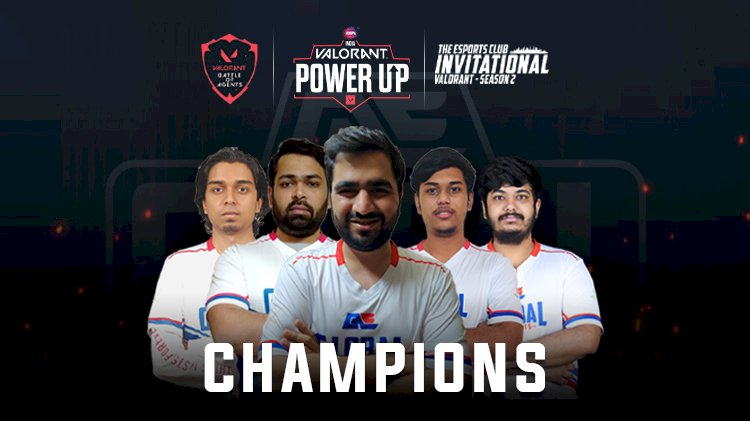Global Esports Valorant division is on a roll with three consecutive tournament victories and INR 6,00,000 in Winnings