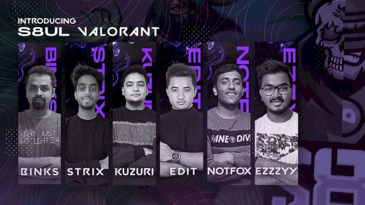 S8ul Esports form Valorant roster with Blinks69 and former Innocent 5 players