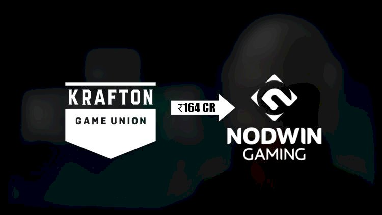 NODWIN Gaming secures 164 Cr of equity investment from PUBG creator KRAFTON