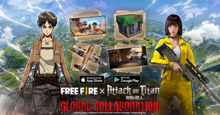 Free Fire and Attack on Titan Collaboration is now live in the game