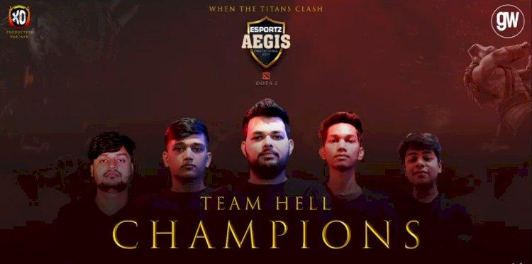 Team HELL triumph at Esportz Aegis Invitational