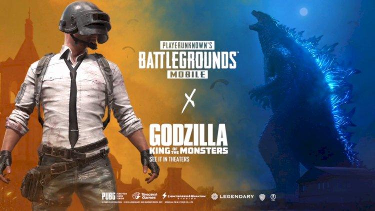 PUBG Mobile reveals Godzilla vs Kong Collaboration