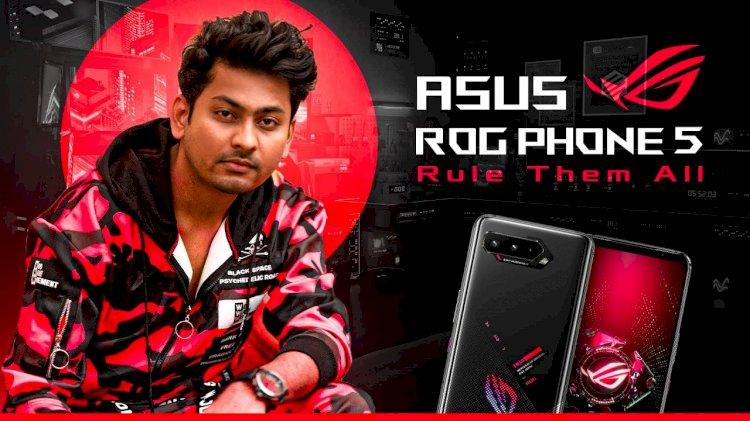 Popular gamer Dynamo unboxes Asus ROG Phone 5