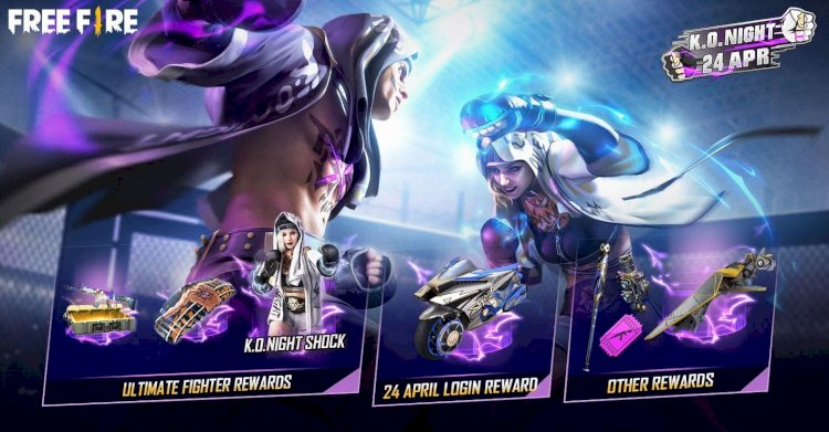 Garena is hosting Grand Finale of Free Fire's K.O. Night on 24th April