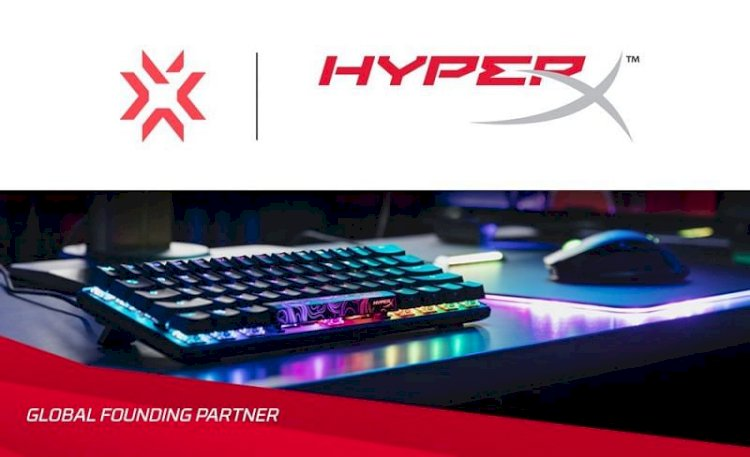 HyperX joins Riot Games' VALORANT Champions Tour as a Global Founding Partner
