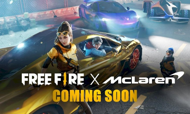 Garena and McLaren Racing  Collaboration to feature McLaren P1™ and Lando Norris in Free Fire
