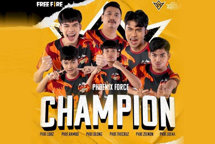 Team Phoenix Force wins Free Fire World Series 2021 Singapore