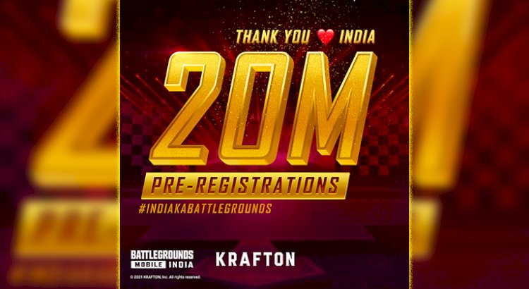 Battlegrounds Mobile India records 20 million pre-registrations in 2 weeks on Google Play Store