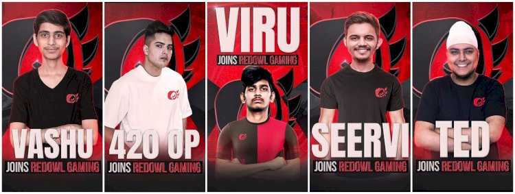 Red Owl Gaming reveals Battlegrounds Mobile India roster