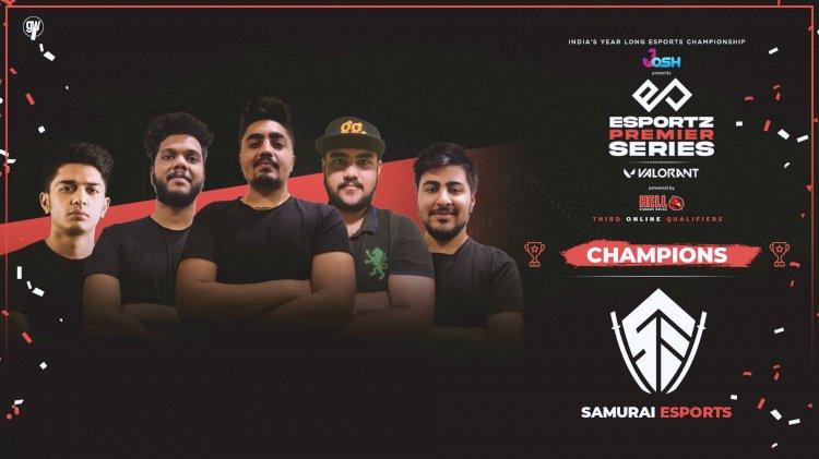 Samurai Esports sweep Enigma Gaming to claim the third LAN spot of Esportz Premier Series Valorant