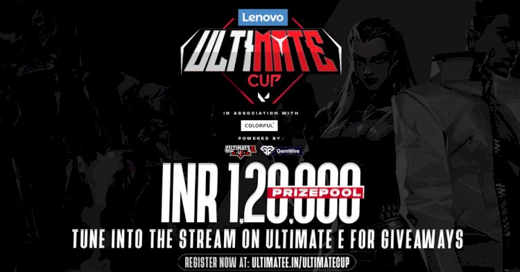 Lenovo Ultimate Cup Valorant Tournament to be hosted by Ultimate E and Gemwire