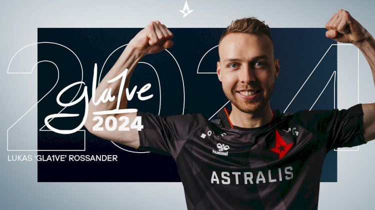 Astralis and Gla1ve extend contract for 3 years