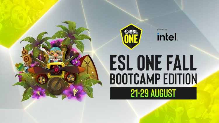 ESL One Fall: Bootcamp Edition powered by Intel® to be played out by twelve of the world's best Dota 2 teams