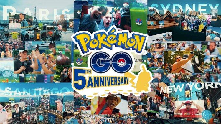 Niantic celebrates #PokemonGO5YearAnniversary;  firms up India growth plans