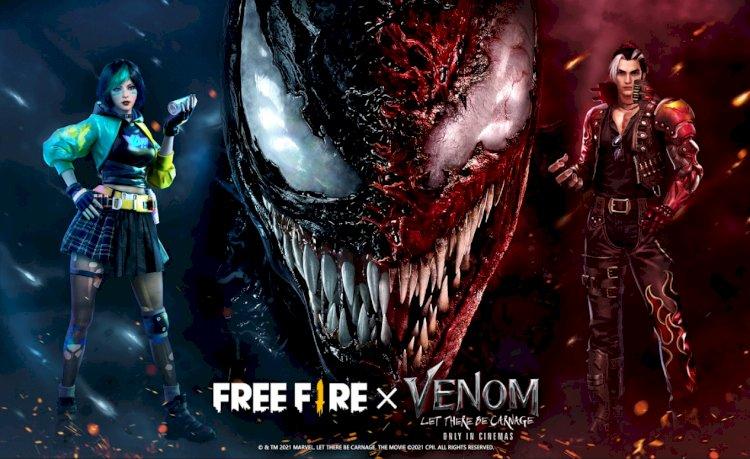 Garena reveal Venom and Free Fire Collaboration
