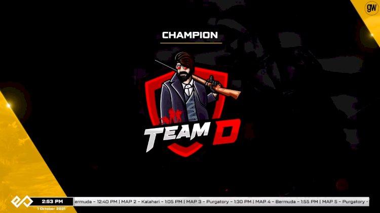 Team D triumphs in Esportz Premier Series' Free Fire Online Qualifier 3