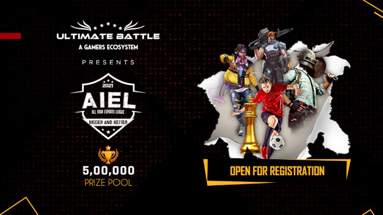 Registrations start for inaugural edition of All India Esports League (AIEL) by Ultimate Battle